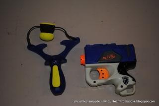 Size comparison vs a Nerf Eliminator