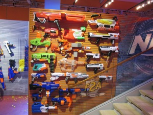 Nerf Blaster Wall New York Toy Fair 2018