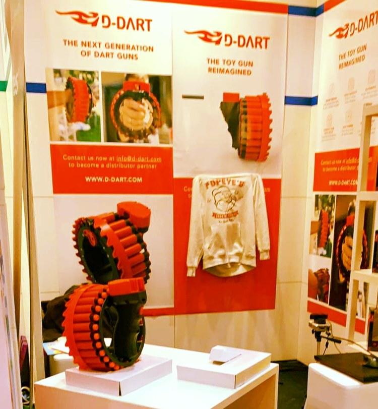 D-Dart Toy blaster at German Toy Fair