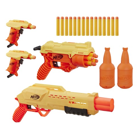 NERF ALPHASTRIKE MISSION OPS SET - oop